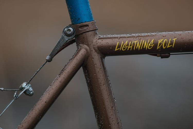 "Nam's Crust Bikes ""Cantibolt"" Lightning Bolt Thrower"