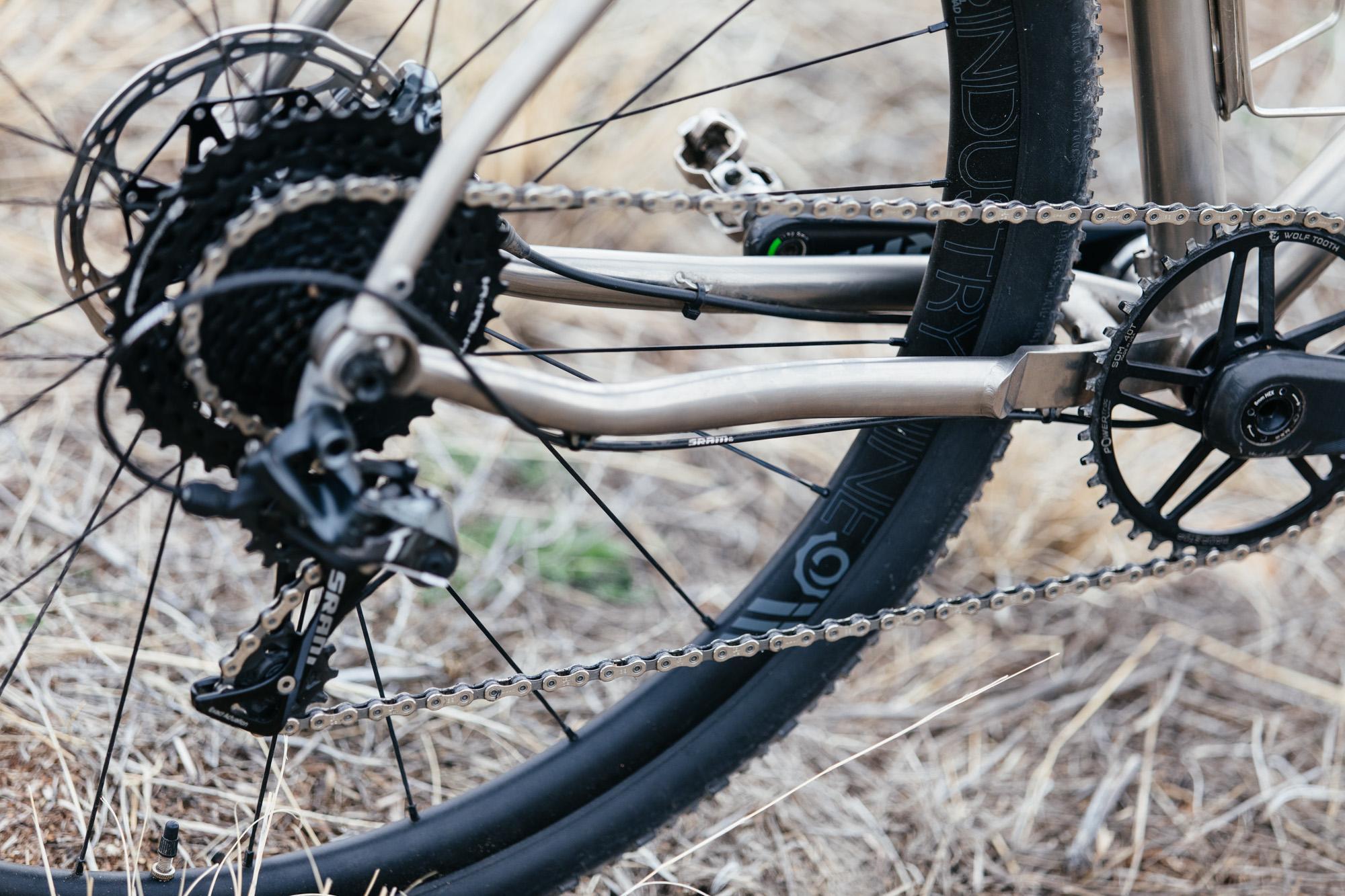 J's Black Magic Bearclaw Bicycle Co Thunderhawk Gravel Bike