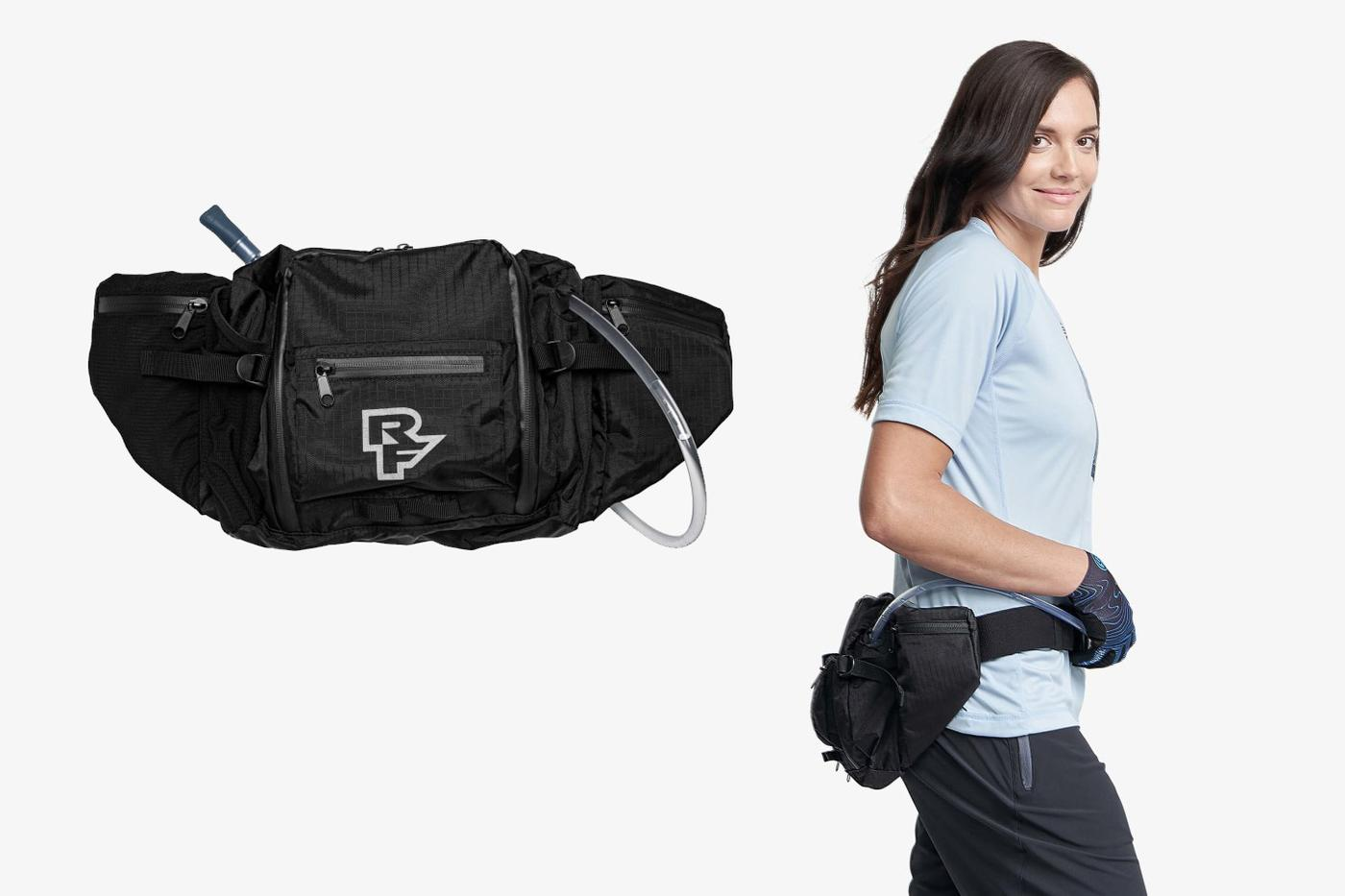 Race Face's 3L Stash Hip Pack Holds a 1.5L Bladder