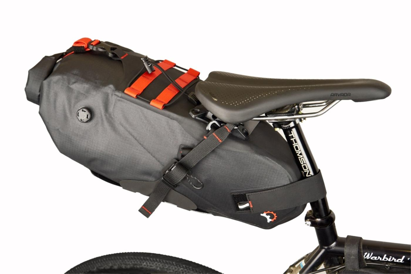 Revelate Designs: New Spinelock Saddle Pack Eliminates Sway