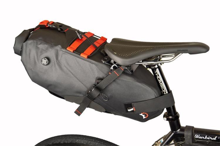 Revelate Designs: New Spinelock Saddle Pack Eliminates Sway