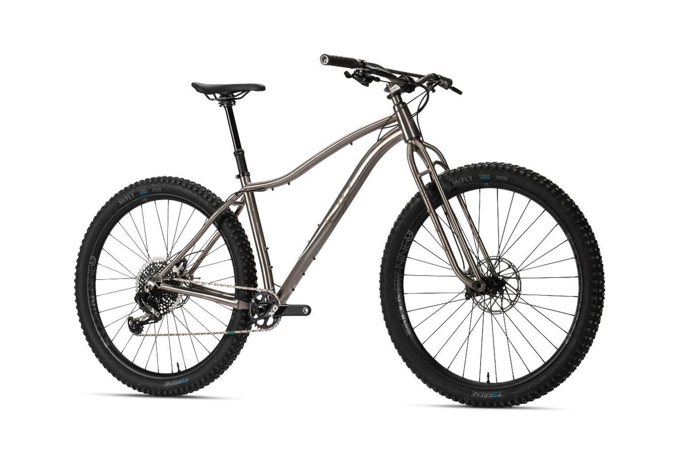 Why Cycles: New Wayward V2 Hardtail or in Squidward Mode with Oddity Fork