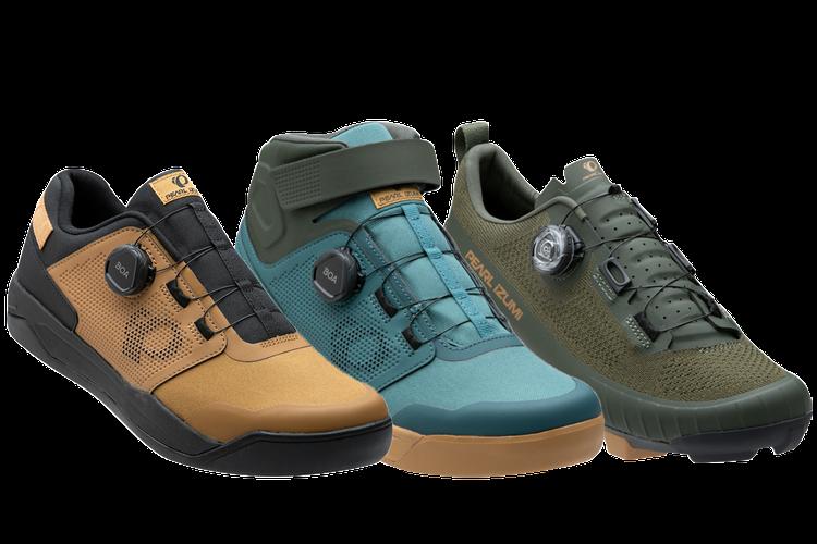 PEARL iZUMi: Sneak Peek at their New 2021 Dirt Shoes