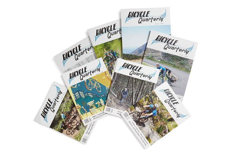 Need Reading Material? Bicycle Quarterly Has an 8-Pack of Mags For Ya!