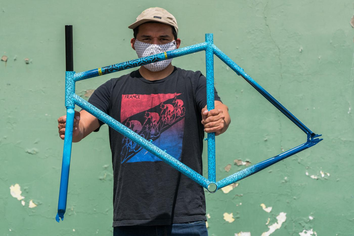 Win This Custom-Painted Squid SO-EZ Tracklocross Frameset