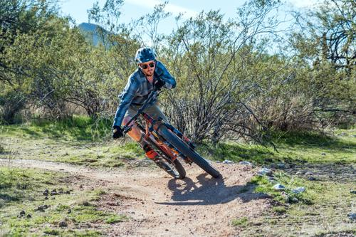 Monkey Wrenching with the Esker Cycles Hayduke Hardtail in Arizona