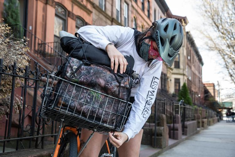 Pandemic Praxis: Delivering PPE in NYC by Bicycle