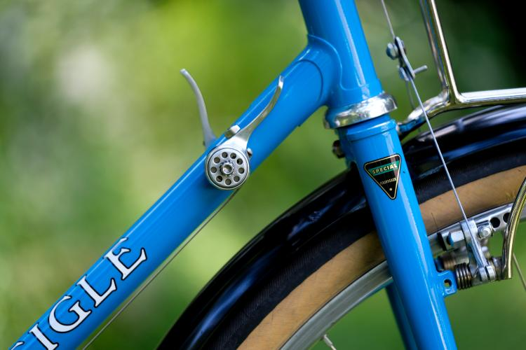 JP Weigle's Hot Blue Thing: One Impeccable Randonneuring Bike