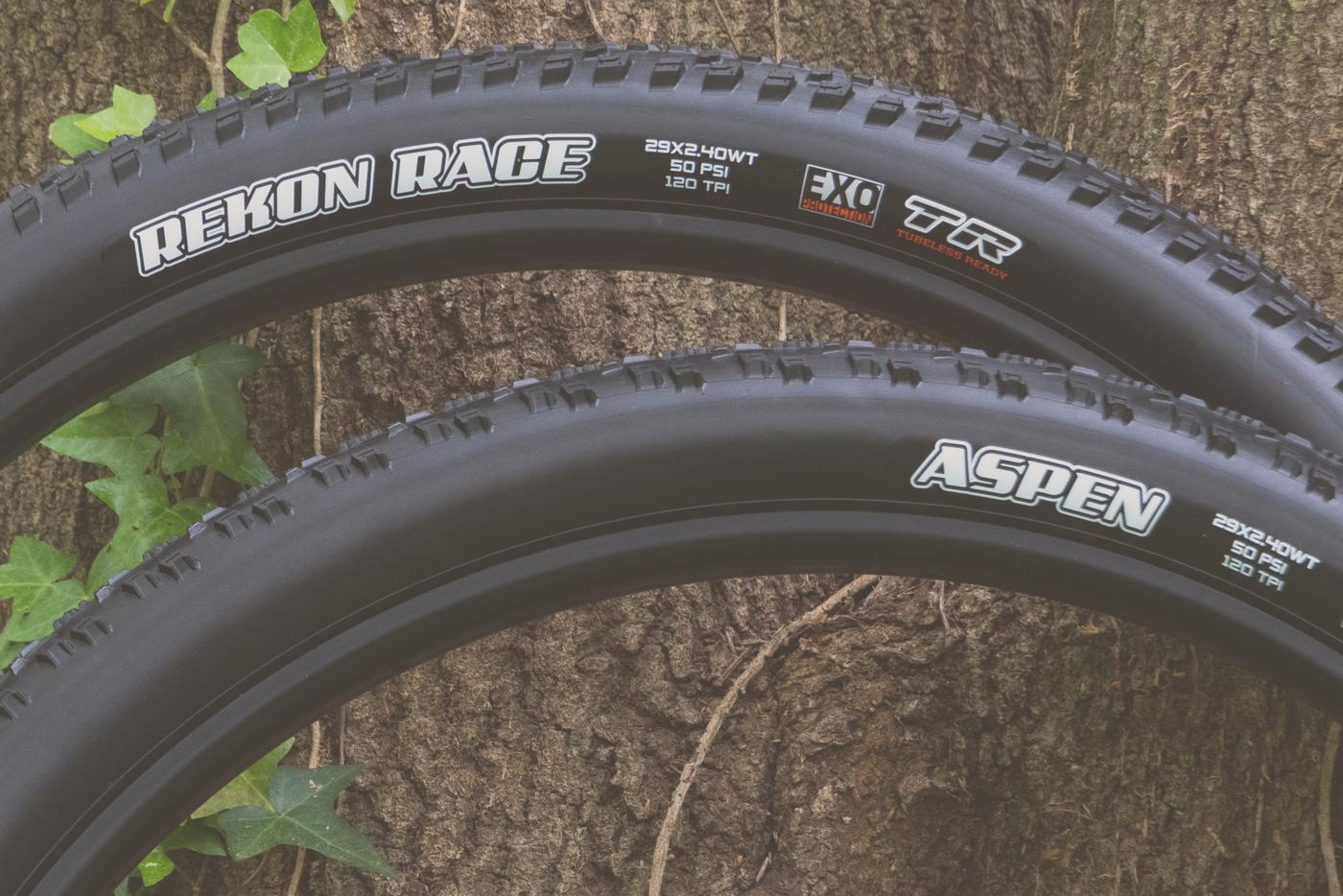 Maxxis Goes Wide With XC Trail Tires