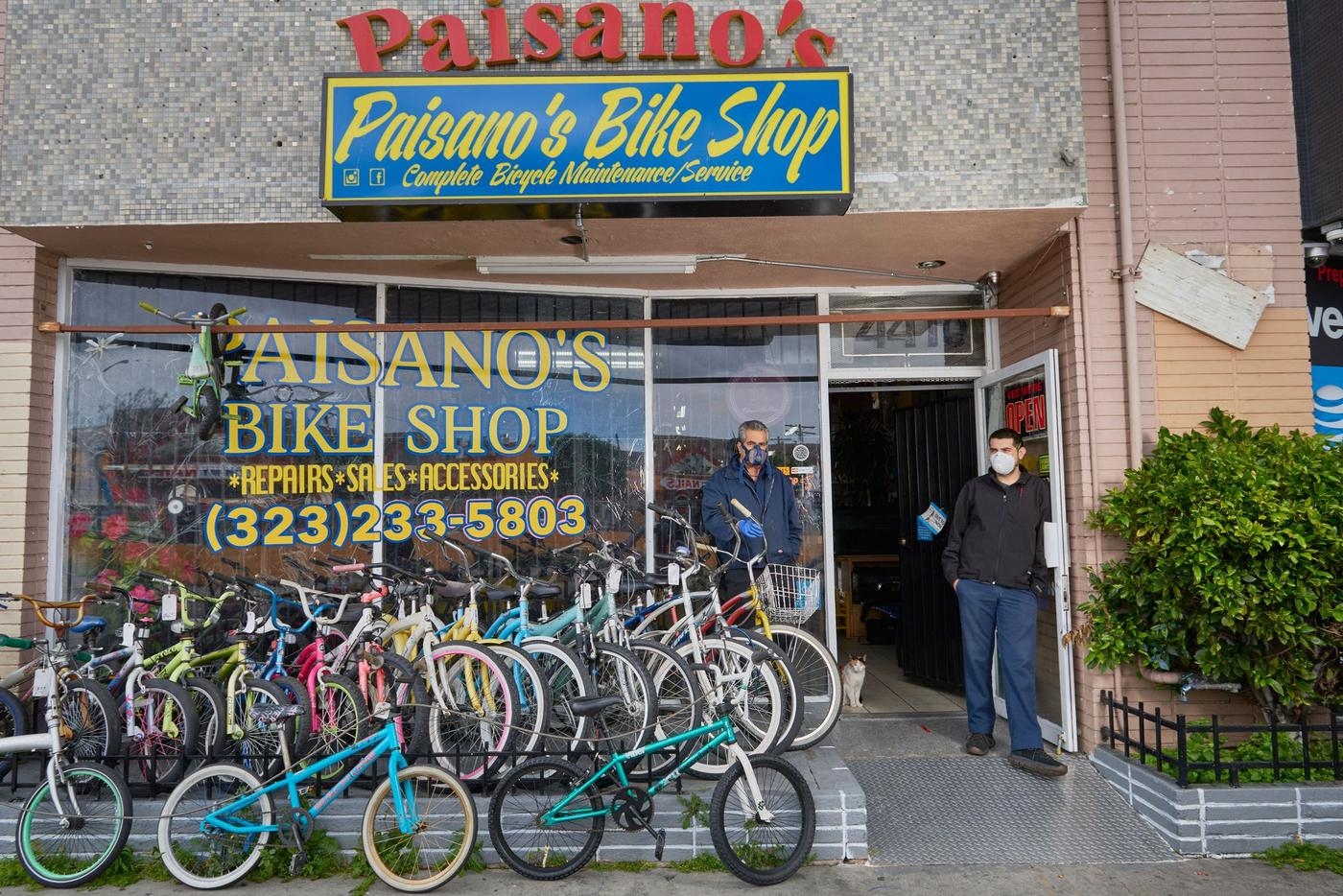 During COVID-19, These Los Angeles Bike Shops Are a Lifeline to Their Communities