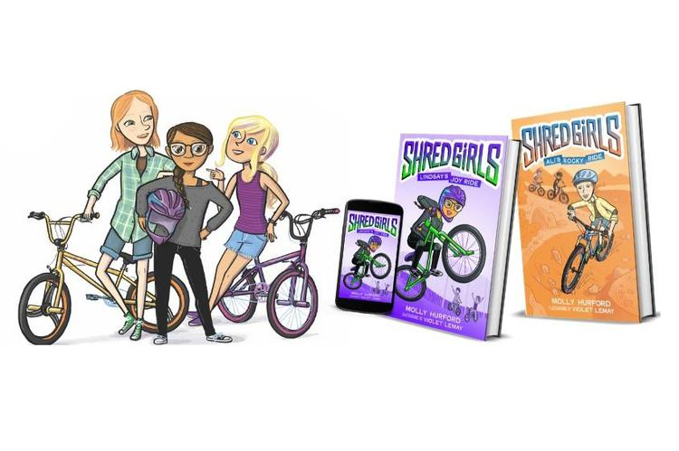 Shred Girls Debuts Book 2: Ali's Rocky Ride with a Pre-Order