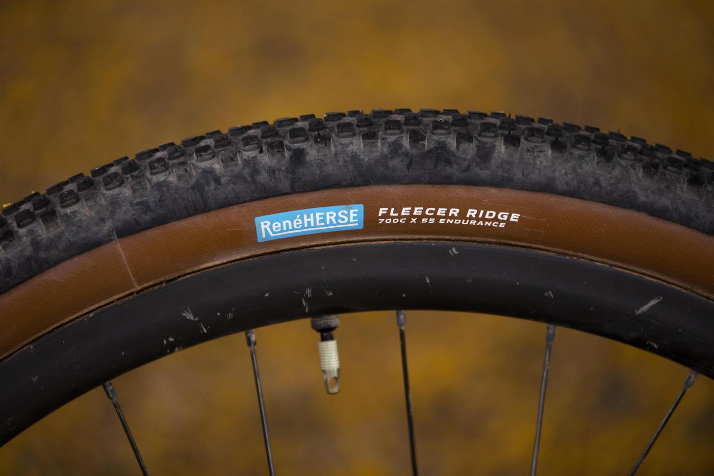 Rene Herse Cycles and Lael Wilcox Announce the Fleecer Ridge 700x55mm Tire