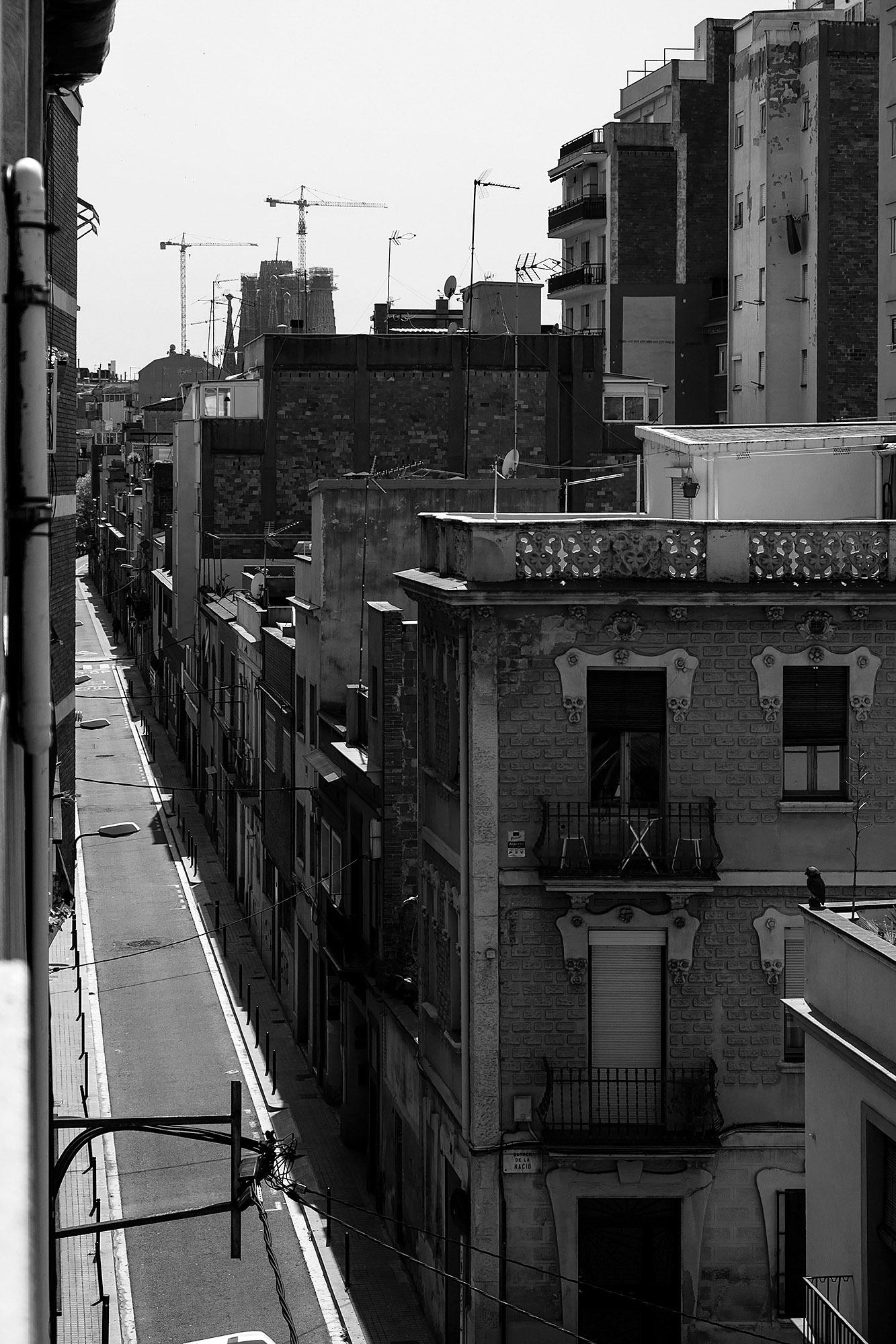 Lockdown Boredom: Deserted streets during the peak of the lockdown.