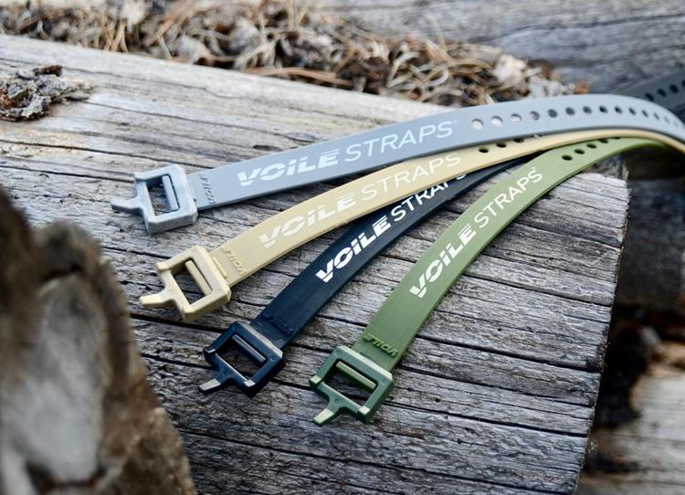 Voile Straps Now Come in Tan, Olive Drab, and Grey