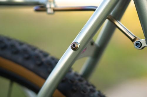 Blake's Gravel Hunter - detail photo by Matt Cardinal