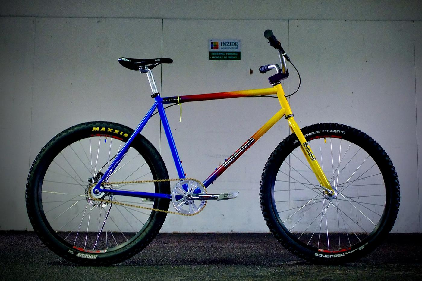 Readers' Rides: Timothy White's Customized Diamondback Cruiser
