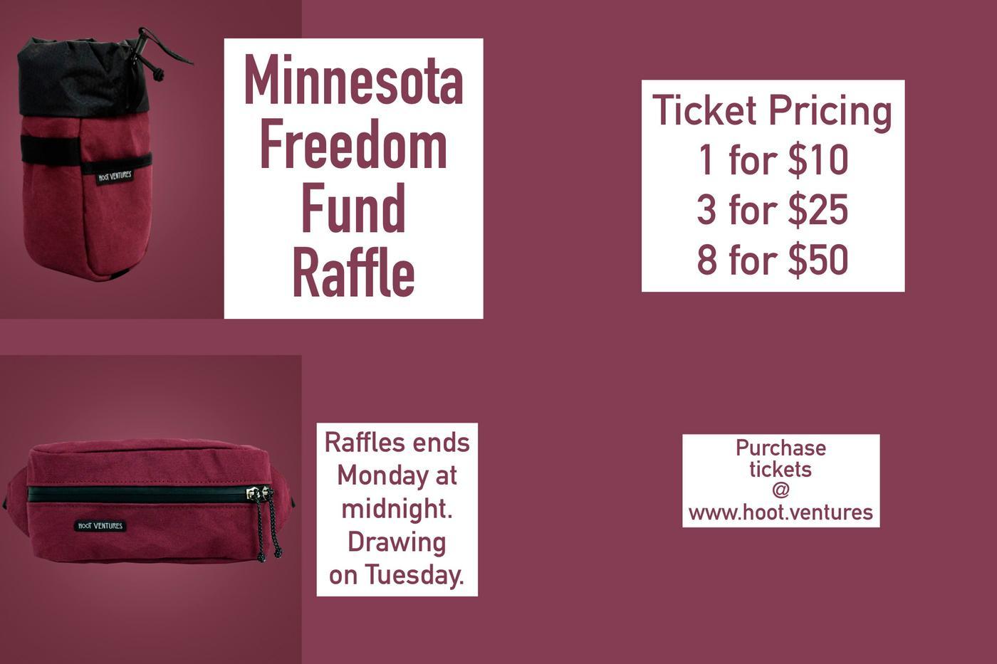 Hoot Ventures Minnesota Freedom Fund Raffle