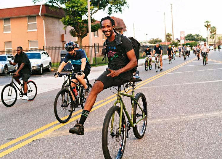 Bicycling: He Lost His Leg, Then Rediscovered the Bicycle. Now He's Unstoppable.
