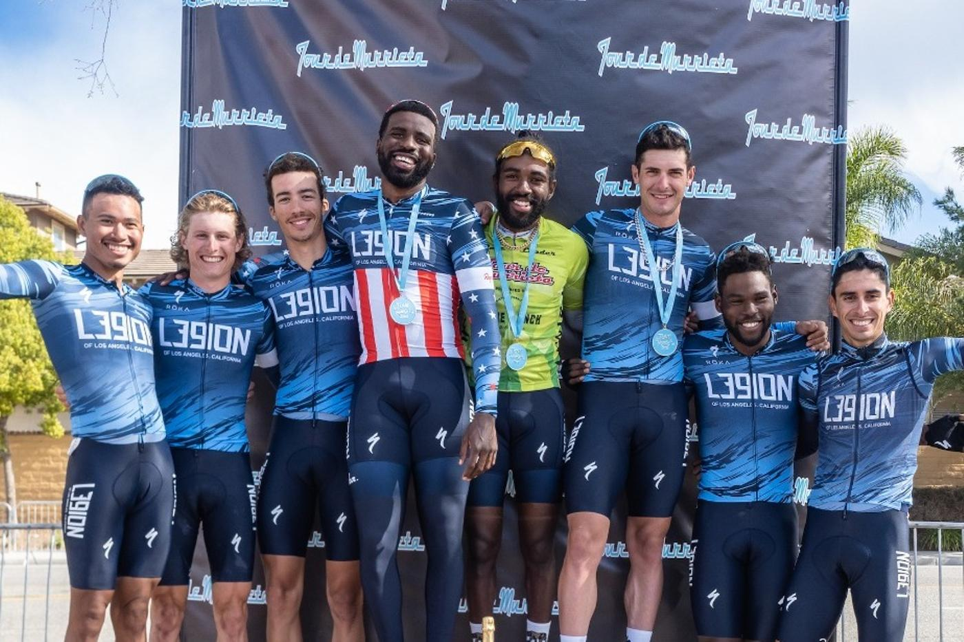 L39ION of Los Angeles: Pride of the People – Raised Over $50k to Help Bring Diversity to Cycling