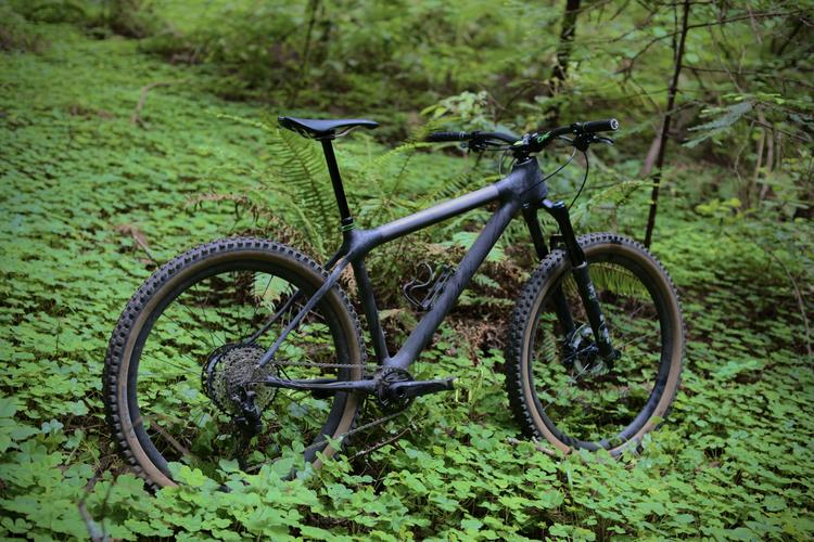 Calfee Teases a Made in California Carbon 140mm Trail Hardtail