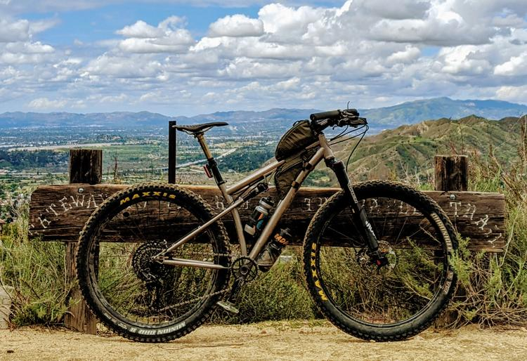 Readers' Rides: Carson's 2018 Funk La Ruta+ Ti Soft-tail
