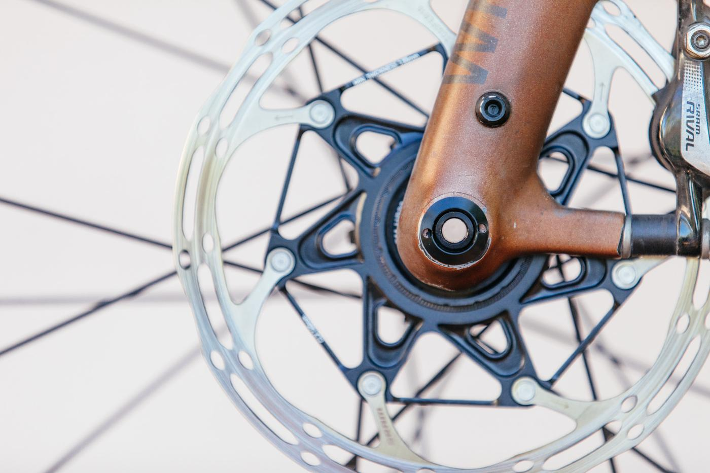 Convert Your 15mm TA Gravel Fork into 12mm with JJP&E's Conversion Kits