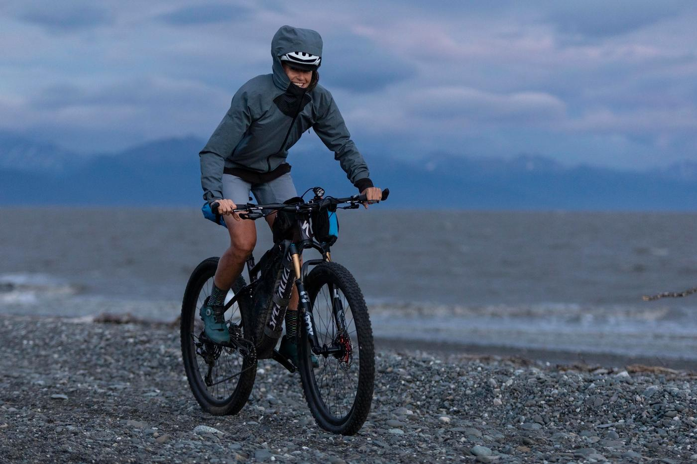 Lael Wilcox's Kenai 250 2021 Specialized Epic Evo Pro with Hope Tech