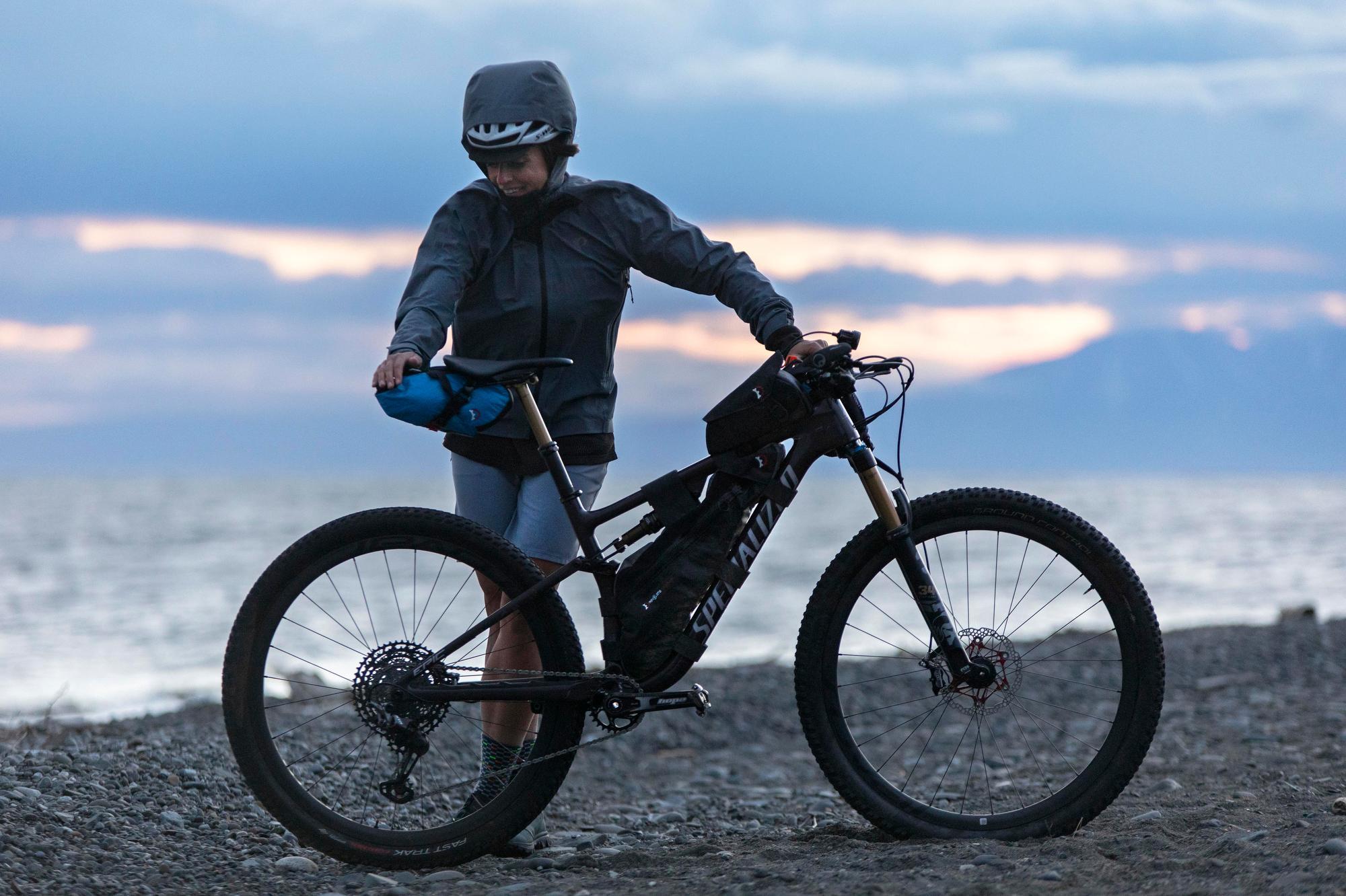 Lael Wilcox Kenai 250 Bike & Gear 007