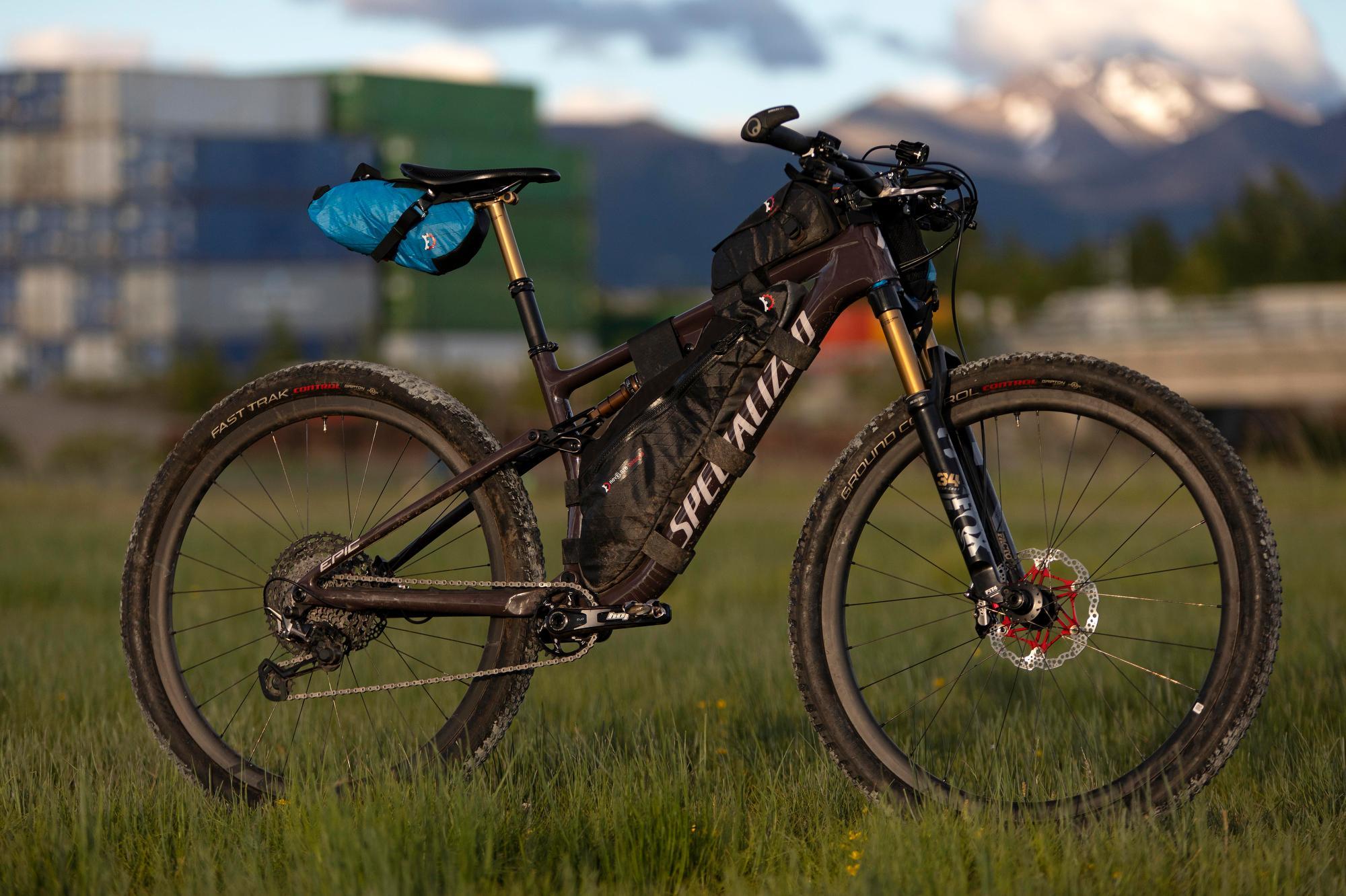 Lael Wilcox Kenai 250 Bike & Gear 021