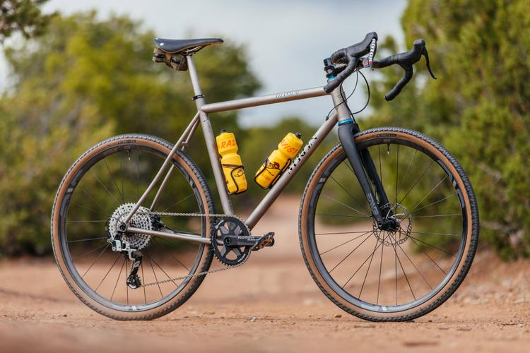 1×13 Shifting with Rotor on the Merlin Bikes Sandstone Gravel Bike