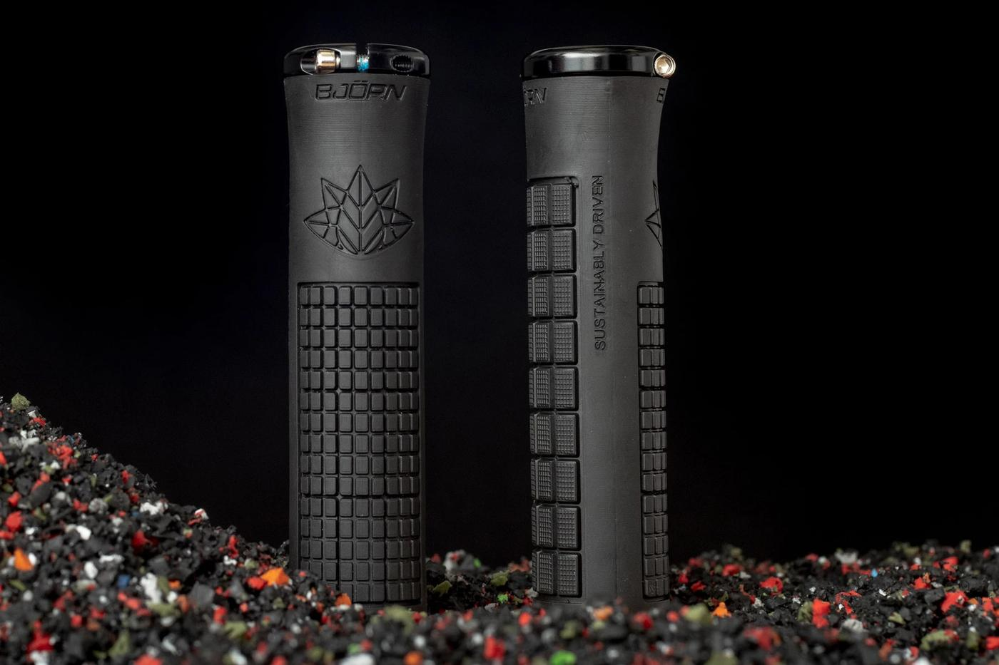 Bjorn Bikes: Lock On Grips Made from Recycled Rubber