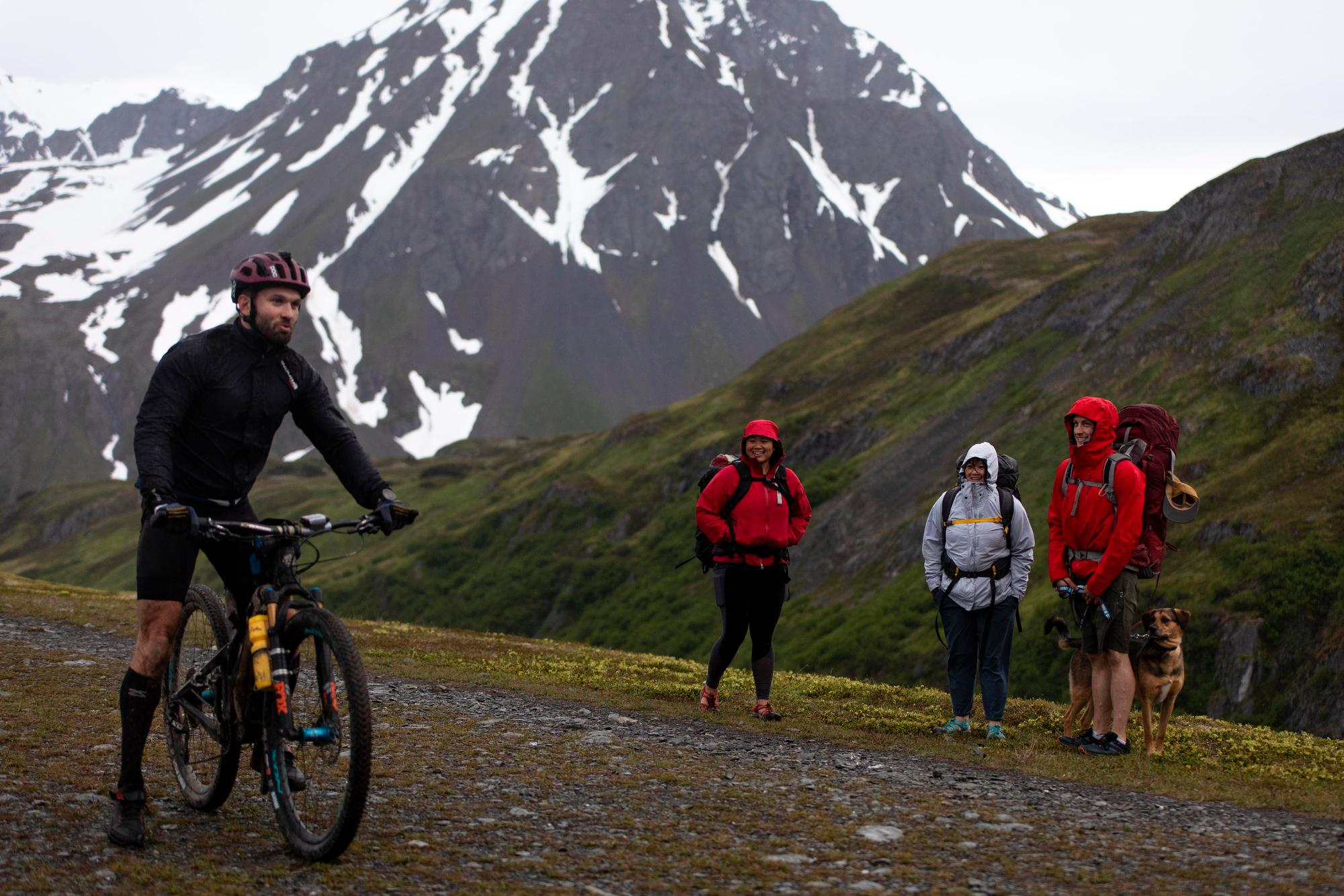 Aaron Thrasher on Lost Lake Trail. (Rugile Kaladyte)