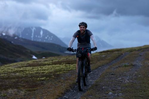 Josh Pickle on Lost Lake Trail. (Rugile Kaladyte)