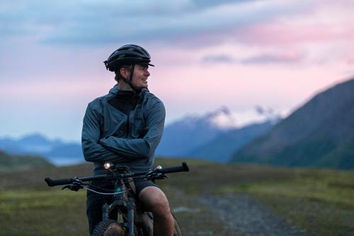 Dylan Morton on Lost Lake Trail. (Rugile Kaladyte)