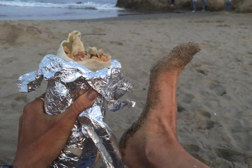 Dinner and Er_s foot