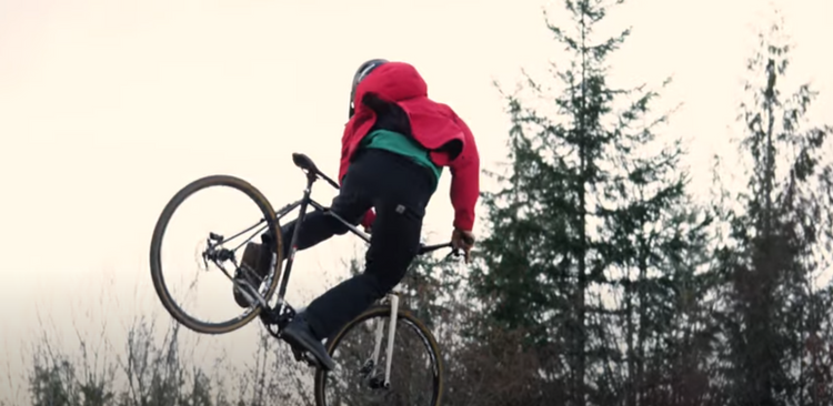 Keland Hawks Shreds His Commuter Bike in Bellingham