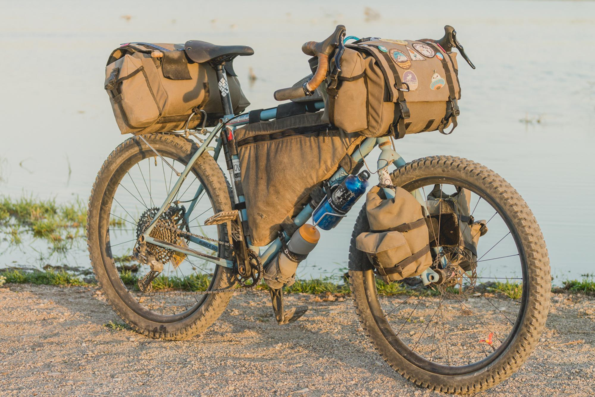 Two years and a few falls on the Ron's Bikes Dirt Tourer-33