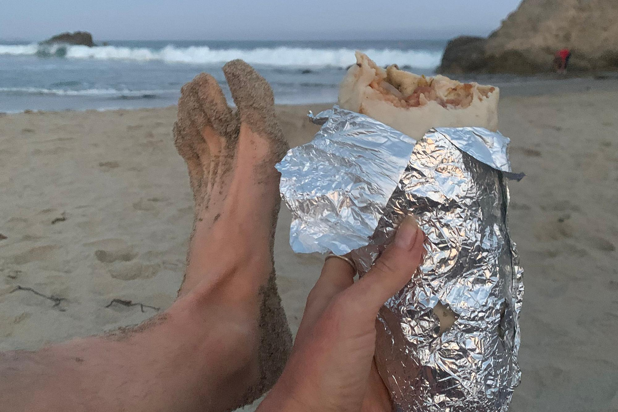 dinner_and_Jen_s_foot