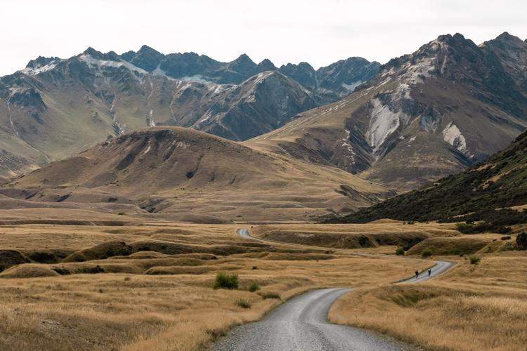 Around the Mountains Trail: Touring New Zealand's Te Waipounamu South Alps