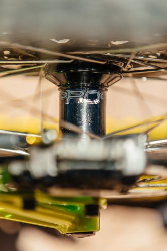 A Radioactive Steve Rex Fillet Brazed MTB