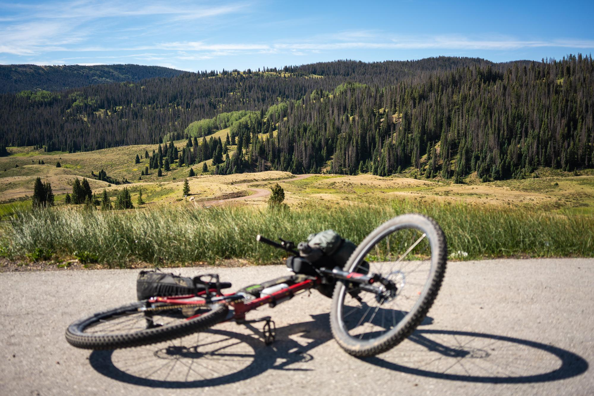 Dropping in from Cumbres Pass