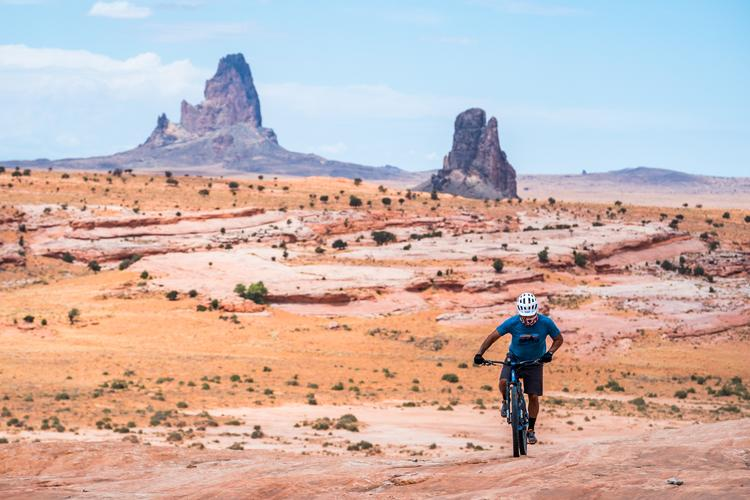 Dzil ta'ah Adventures Navajo Youth Bike-Packrafting Adventure Series