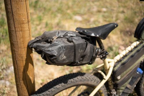 Revelate seatbag keeping things dry