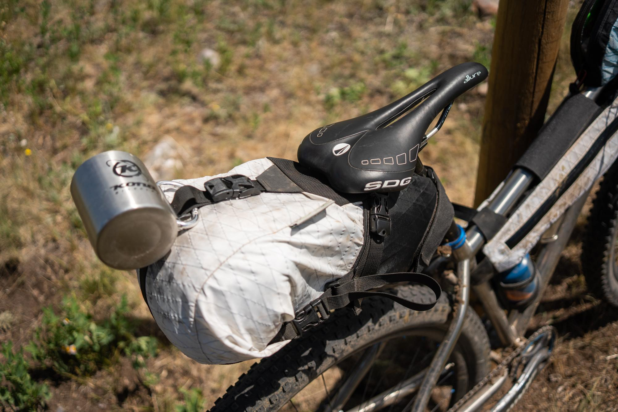 SDG on all Kim's bikes