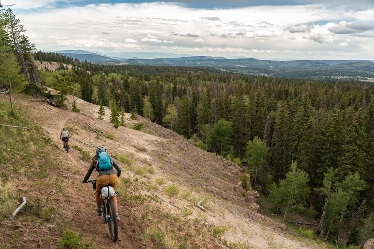 Bikepacking the Continental Divide Trail CDT in Northern New Mexico