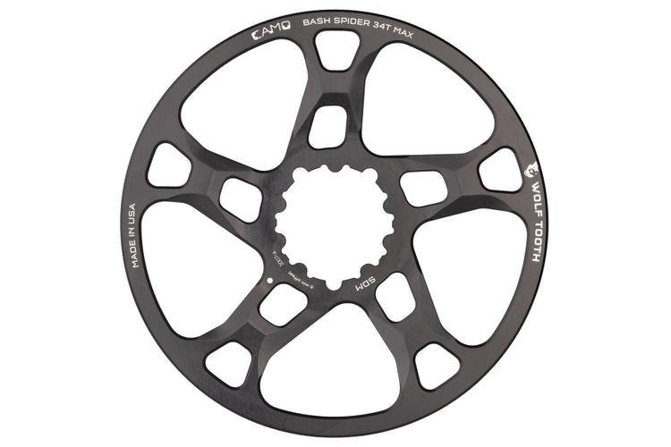 Wolf Tooth's CAMO System Bashspider and Chainrings