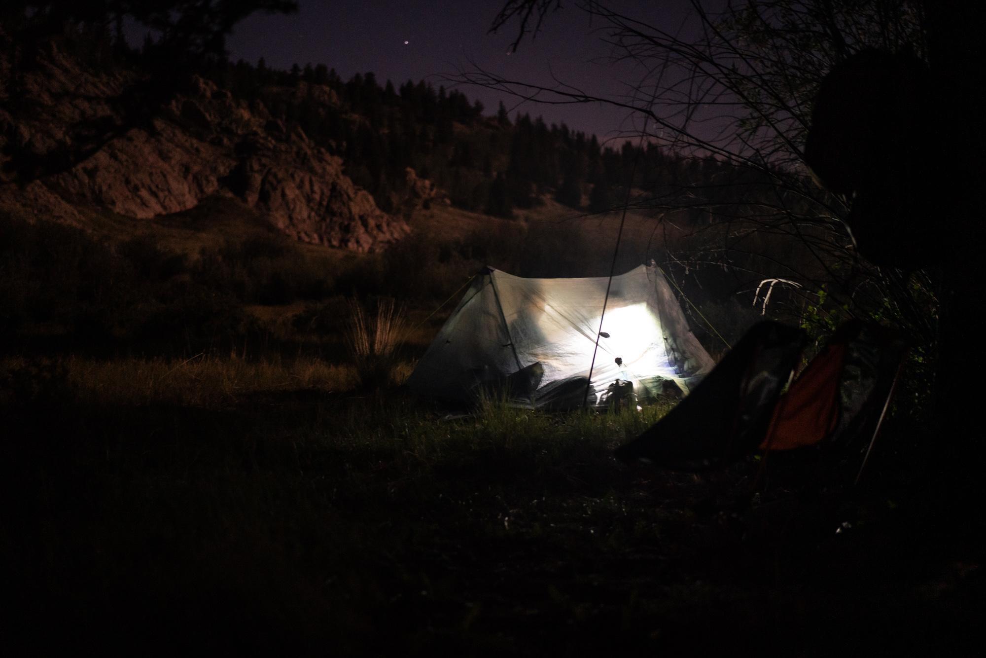 Tent time - photo Kyle Klain