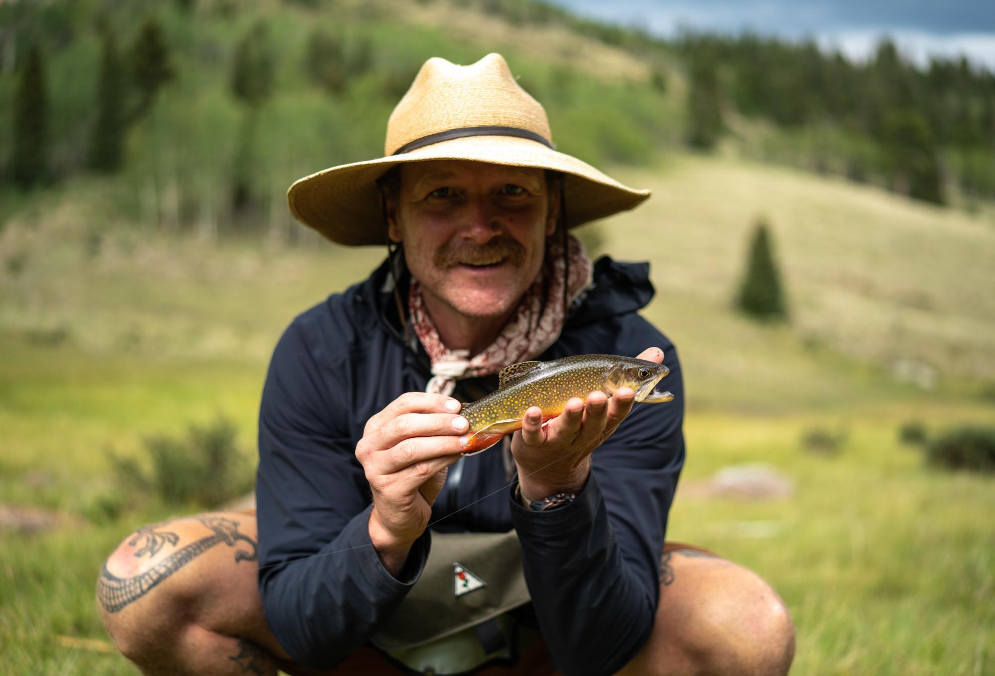 Biggest fish of the trip - photo Kyle Klain