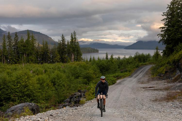 Lael Rides Alaska: Alaskan Island Time