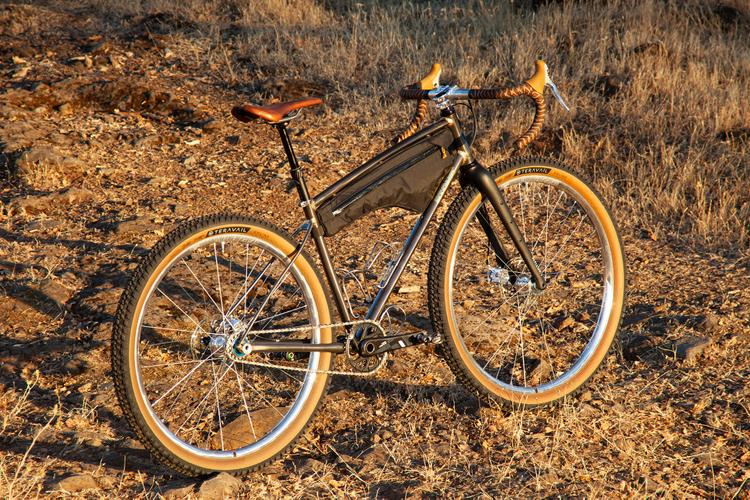 An Interview with Tyler of BTCHN' Bikes About His New Raw Mullet Gravel Prototype